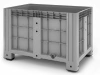 Пластиковый контейнер iBox 1200х800 (сплошной, на ножках)