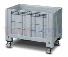 Цельнолитой полимерный контейнер IBox на колесах