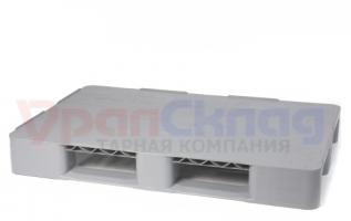 Полимерный поддон м/о 1200x800, сплошной, на двух лыжах (Полиэтиленовый)