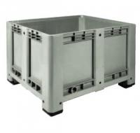 Пластиковые контейнеры CP 1200x1000 (сплошной, на ножках)