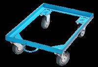 Телега складская цельнометалическая для транспортировки ящика