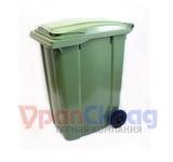 Мусорный контейнер на колёсах (360 л) зеленый