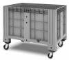 Пластиковый контейнер iBox 1200х800 (сплошной, на колесах)