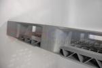 Полимерный поддон м/о 1200x800, перфорированный, на двух лыжах